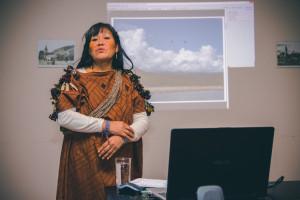 Discursul lui Teresita Lopez la Universitatea Sapientia