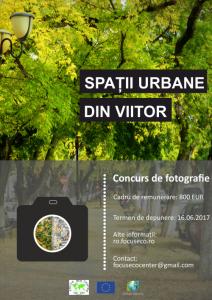 Concurs de fotografie – Spații urbane din viitor